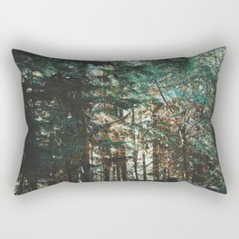 Dreamy Pacific Northwest Forest Rectangular Pillow