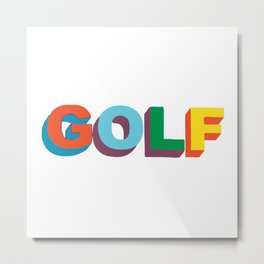 Golf Wang Metal Print