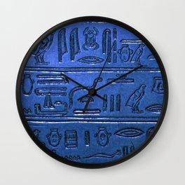 Hieroglyphs 2014-1027 Wall Clock