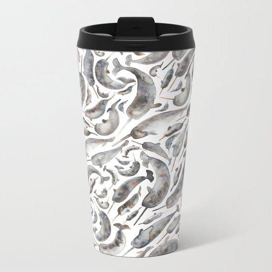 Narwhal Metal Travel Mug