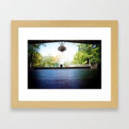 Lone Court Framed Art Print