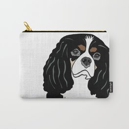 Daisy the Cavalier King Charles Spaniel Carry-All Pouch