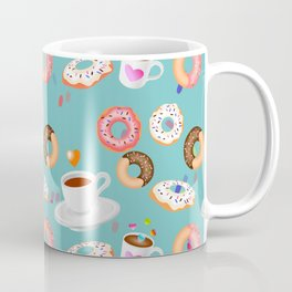 Coffee and Doughnuts Coffee Mug
