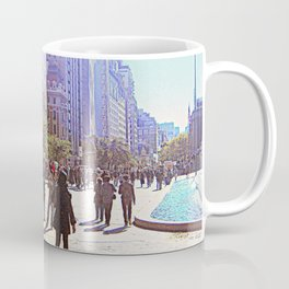 Sunny day in front of Metropolitan museum Coffee Mug