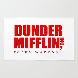 Dunder Mifflin Logo Rug