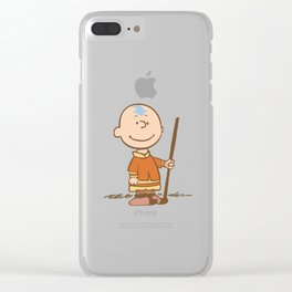 The Last Blockhead Clear iPhone Case