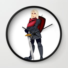 Cath Wall Clock
