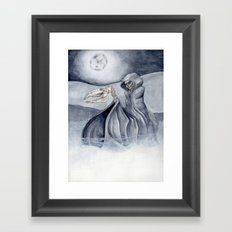 The Man Comes Around Framed Art Print