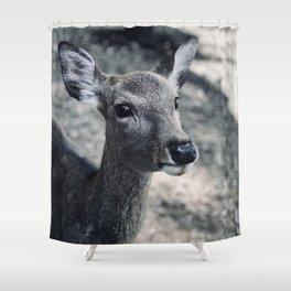Deer Nara Shower Curtain