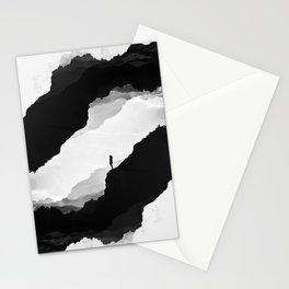 White Isolation Stationery Cards