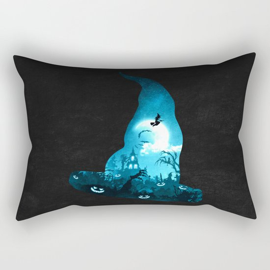 The Witches Hour Rectangular Pillow