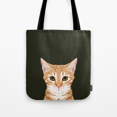 Chase - Cute Cat gifts for pet lovers cat lady gifts and perfect gifts for cat person and cute tabby Tote Bag