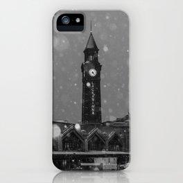 Snow  in Hoboken iPhone Case