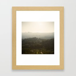 The Hills Framed Art Print
