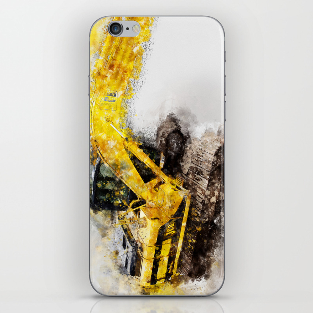 Jcb Js130 360 Excavator Iphone & Ipod Skin by Digitalshot PSK8702534
