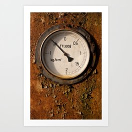 The meter Art Print