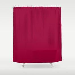 Burgundy  Shower Curtain