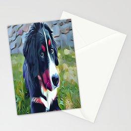 Burnese Mountain Dog Puppy Stationery Cards