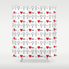 woman woman 3 Shower Curtain