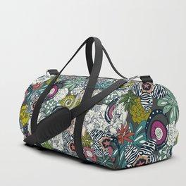 succulents multi dark Duffle Bag