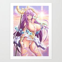 Trap Goddess Art Print