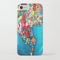 colombia iPhone & iPod Cases featuring Colombia Verde by MikAnsart