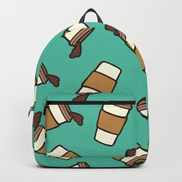 Take it Away Coffee Pattern Backpack