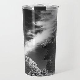 Cloud trees man Travel Mug