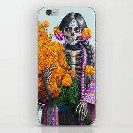 Catrina en Xochimilco iPhone Skin