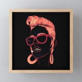 High Framed Mini Art Print