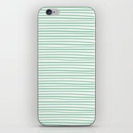 Sailor Tee - Mint iPhone Skin