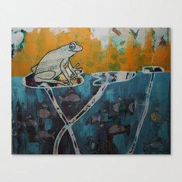 Frog Music Canvas Print