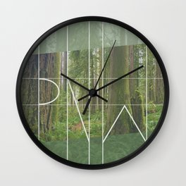 PNW - Rockport State Park Wall Clock