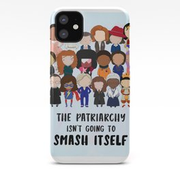 Smash the Patriarchy iPhone Case