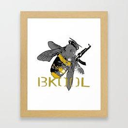 work bee Framed Art Print
