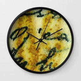 Eco Writing A Wall Clock