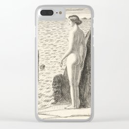 Appledore by Childe Hassam, 1925 Clear iPhone Case