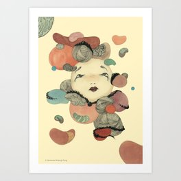 Broken Memory Art Print