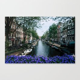 Charming Amsterdam Canvas Print
