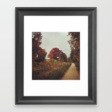Look very closely... Framed Art Print
