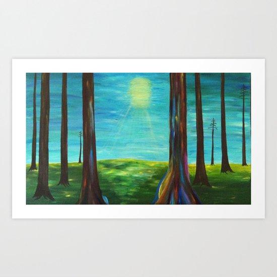 Magical Forest Art Print