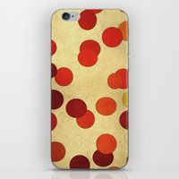 circles iPhone & iPod Skins featuring Circles by SensualPatterns