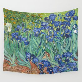 Irises - Vincent Van Gogh Wall Tapestry