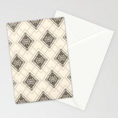 Square Mandala Pattern Stationery Cards