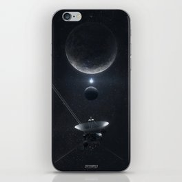 Voyager 3 Pluto Flyby iPhone Skin