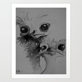 Birds of a Feather Art Print