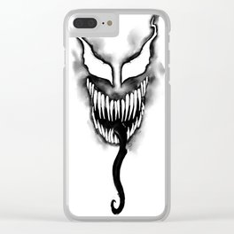 Sumi Ink Venom Clear iPhone Case