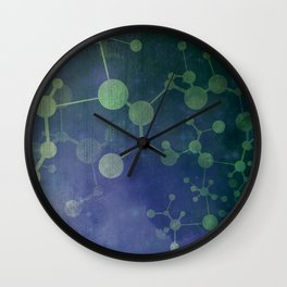 Double Helix Wall Clock