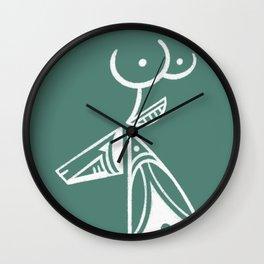 Sowi'yngwa - Deer Wall Clock
