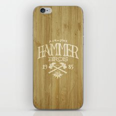 HAMMER BROTHERS iPhone Skin